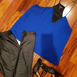 Royal blue camisole top